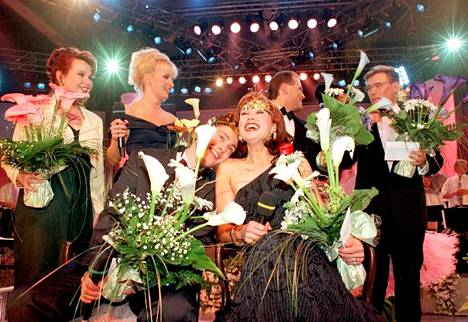 Saija Varjus tihkui onnea Seinäjoella 1996.