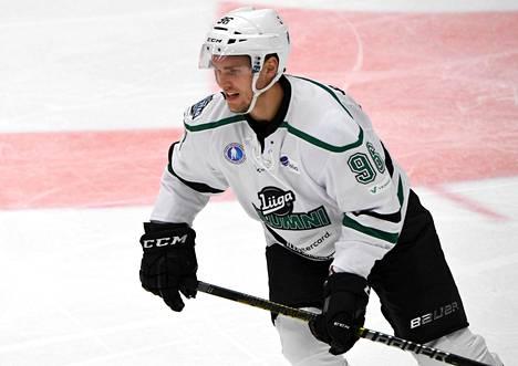 Mikko Rantanen pelasi SM-liigan alumnitapahtumassa elokuun puolivälissä.