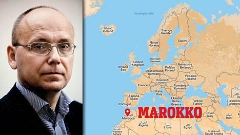 Ruotsin Maanpuolustuskorkeakoulun tutkijan Magnus Ranstorpin mielestä on selvää, että marokkolainen terrorismiverkosto ulottuu Turkuun saakka.