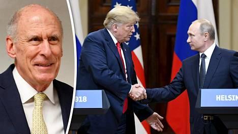 Kansallisen tiedustelun johtaja Daniel Coats yllättyi Trumpin päätöksestä järjestää uusi tapaaminen Putinin kanssa näin pian Helsingin-tapaamisen jälkeen.