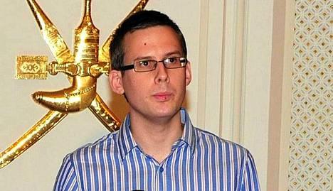 Dominik Neubauer vapauttamisen jälkeen.