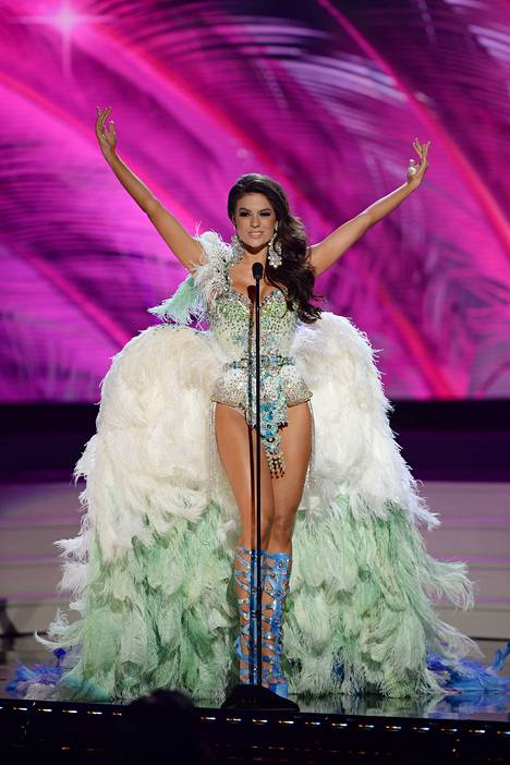 Miss Brasilia Melissa Gurgelin asu oli muhkea ja paljastava.