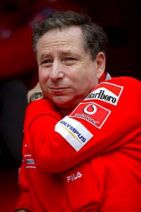 Jean Todt jättää Ferrarin maaliskuussa.