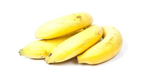 Tummuneet banaanit ovat yleinen hävikkiin menevä tuote.