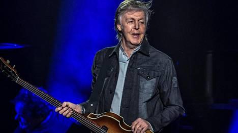 Paul McCartney ei hidasta tahtia, vaan kiertää edelleen keikkalavoja ympäri maailmaa.