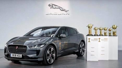 I-Pace saavutti historiallisen kolmoisvoiton 2019 World Car Awards -kilpailussa.