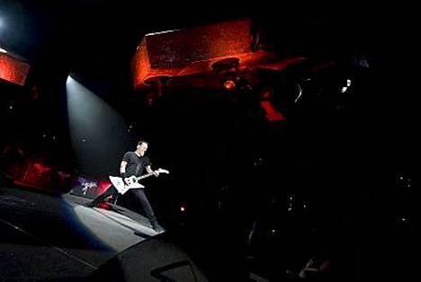 Metallican ensimmäinen keikka kahdesta perättäisestä esityksestä pidettiin sunnuntaina.