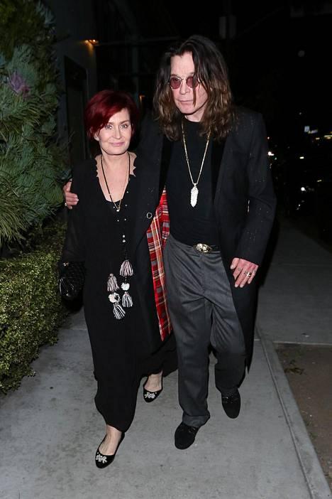Ozzy ja Sharon Osbournen liitto on ollut myrskyisä