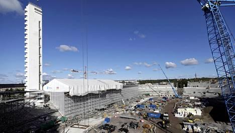 Tältä Olympiastadionin remontti näytti elokuun lopulla 2018.