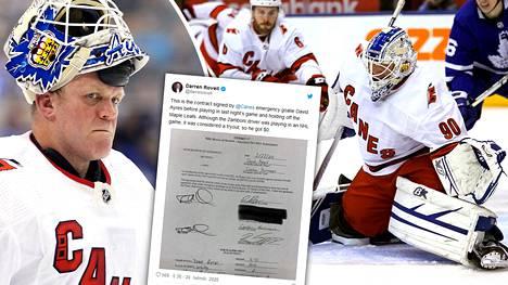 David Ayres jäi NHL-historiaan uskomattomalla suorituksellaan.