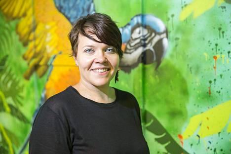 Sonja Lipposen mukaan seinään potkiminen sopii kaikille.
