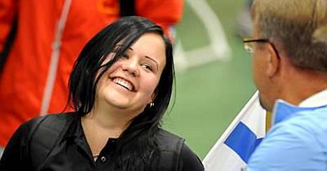 Mira Nevansuu oli tyytyväinen seitsemännestä sijastaan olympiafinaalissa.