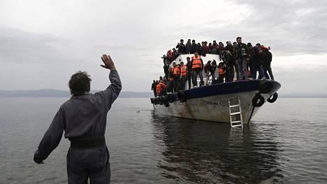 UNCHR:n mukaan Eurooppaa koettelee tällä hetkellä suurin pakolaiskriisi sitten toisen maailmansodan.