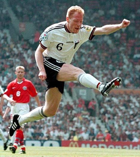 Matthias Sammer vuoden 1996 EM-kisoissa.