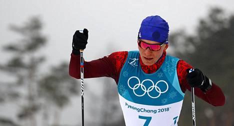 21-vuotias Aleksandr Bolshunov kuuluu Venäjän hiihdon superlupauksiin. Hän saavutti Pyeongchangissa neljä olympiamitalia.