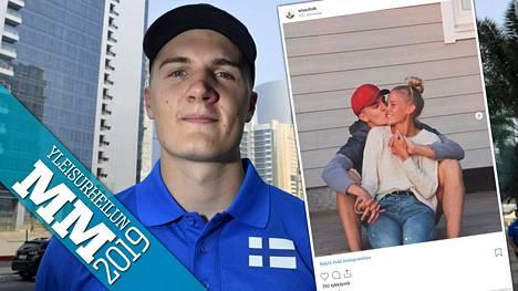 Suomen keihästoivo Oliver Helander muuttaa Vaasaan rakkaansa Wilma Lassfolkin luokse.