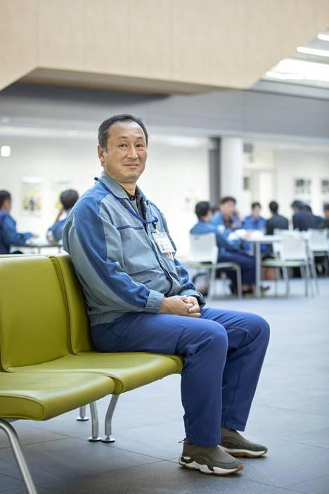 Yuji Hoshi on työskennellyt Tepcolla koko aikuisikänsä.