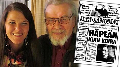 """Saara Aallon Eeli-ukki oli ainoa katsoja, joka istui Jumalan teatterin esityksen loppuun. """"Olen kauhistunut ja häpeän kuin koira, Teatterikorkeakoulun vt. rehtori Marianne Möller kuvailee järkkyneitä tunteitaan neljän teatterioppilaan Oulussa tekemän terrori-iskun jälkeen"""", kerrottiin IS:n etusivulla 19.1.1987."""