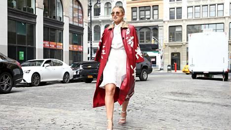 Danielle Bernstein kuvattuna New Yorkissa viime vuonna.