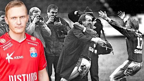 PS Kemin Tuomo Könönen on pelannut myös RoPSin paidassa. Hän muistaa hyvin 1980-luvun puolivälin Jänkäderbyt.