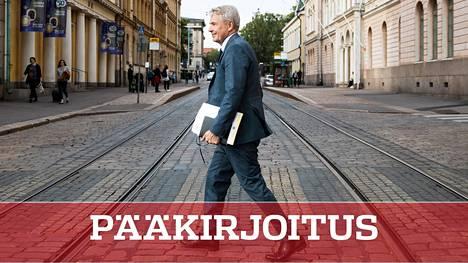 Vihreiden Pekka Haavisto nousi odotetusti Antti Rinteen hallituksen ulkoministeriksi. Nyt hän on joutunut kritiikin kohteeksi.
