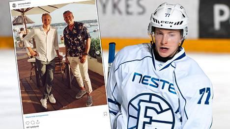 Janne Puhakka kertoi seurustelevansa Rolf Nordmon kanssa kesällä Instagramissa.