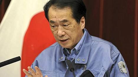 Japanin pääministeri on vähätellyt ydinvoimatilanteen riskejä.