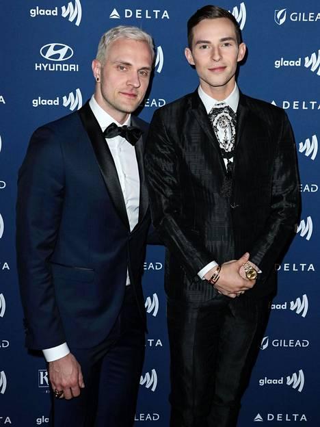 Adam Rippon ja Jussi-Pekka Kajaala tapasivat vuonna 2017 deittisovellus Tinderissä.