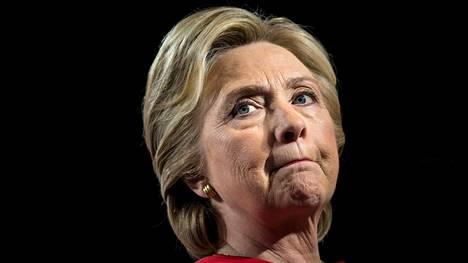 Hillary Clinton pyrki Yhdysvaltain presidentiksi demokraattien ehdokkaana vuonna 2016.