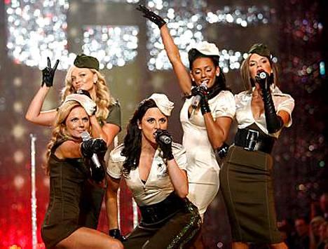 Spice Girls lopetti comeback-kiertueensa.