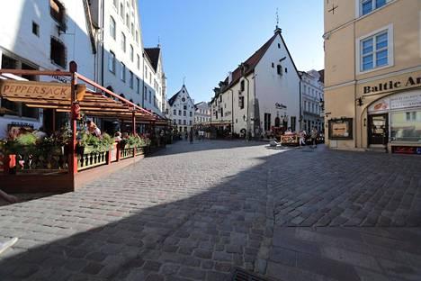 Euroopasta ei tule tänä kesänä yhtä paljon turisteja Tallinnaan.