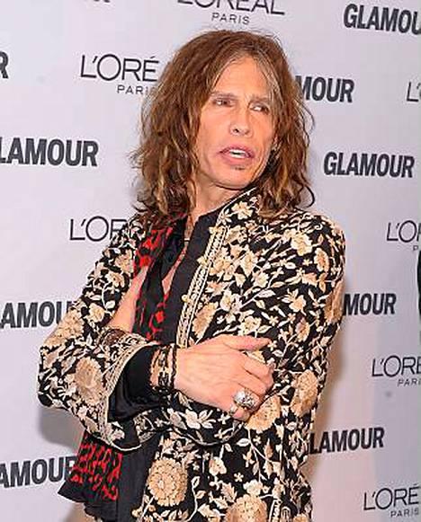 Aerosmithin Steven Tylerin, tietenkin.
