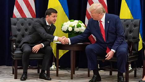 Zelenskyi ja Trump tapasivat toisensa kasvotusten aiemmin tällä viikolla New Yorkissa järjestetyssä YK:n yleiskokouksessa.