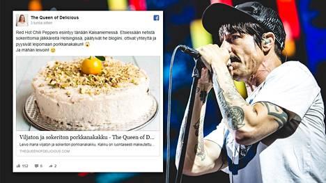 Helsinkiläisbloggaaja sai yhteydenoton Red Hot Chili Peppersiltä.