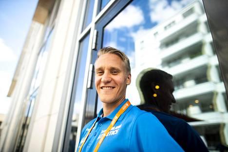 Aku Partanen on yksi Suomen mitalitoivoista yleisurheilun MM-kisoissa Dohassa.