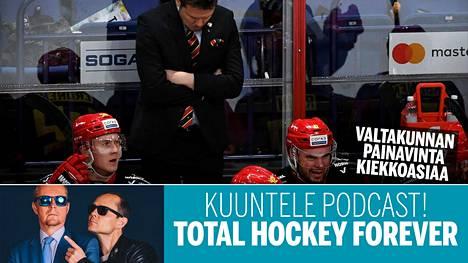Jokerien vuonna 2014 alkanut taival KHL:ssä ei ole liikaa menestyksen riemua tarjonnut. Kuva runkosarjan ottelusta Admiralia vastaan 23. tammikuuta.