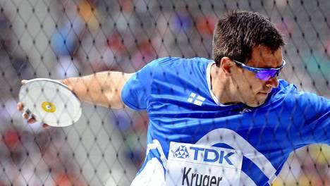 Frantz Kruger kilpailee taas.