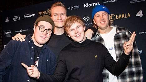Gasellit palkittiin vuonna 2019 Emma-gaalassa vuoden yhtyeen pystillä.