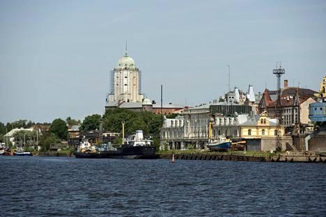 Viipurin satama-aluetta. Kuva vuodelta 2009.