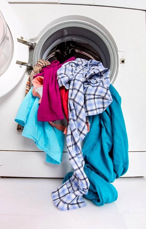 Jatkuvasti liian matalalla lämpötilalla pyykin pesemistä kannattaa välttää.