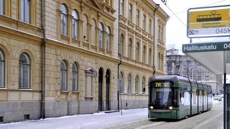 Finanssivalvonnan (Fiva) päärakennus Helsingissä.