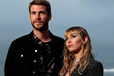 Liam Hemsworth ja Miley Cyrus ehtivät olla naimisissa alle vuoden.