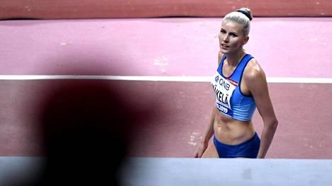 Kristiina Mäkelä jäi loppukilpailussa 12:nneksi.