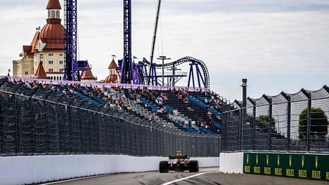 Venäjän F1-kisa ajetaan sunnuntaina Sotshin Autodrom -radalla.