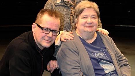 –Hänellä oli käsittämätön rytmitaju. Kävimme paljon keskusteluita liittyen näyttelemisen rytmiin, Kari Hotakainen kertoo Ritva Valkamasta.