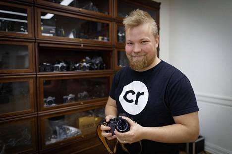 Rakkaus lajiin vie pitkälle. Kameratorin perustaja Juho Leppänen teki harrastuksesta itselleen ammatin.