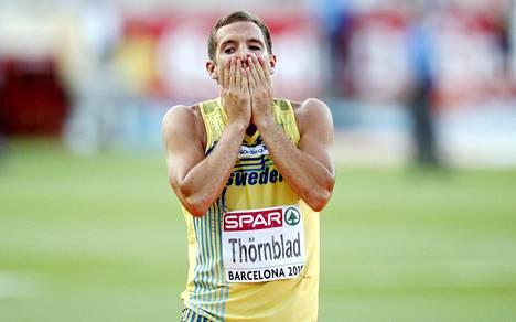 Linus Thörnblad MM-kisoissa 2010.