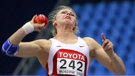 MM-kultaa voittanut Olga Ryanbikina on yksi 18 Helsingissä kärynneestä venäläisestä.
