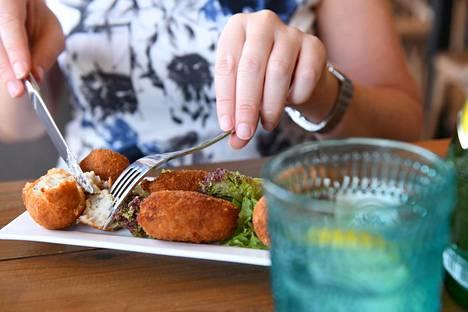 Herkullisia kroketteja saa liha-, kala- ja kasvisversioina. Kinkkukrotetit ovat suosituimpia.