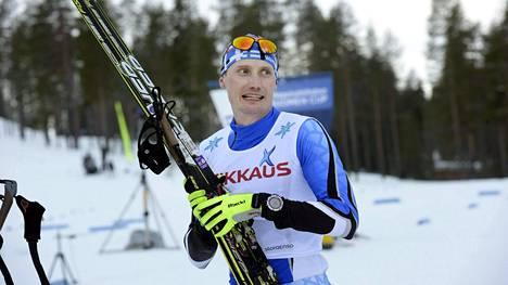 Hannu Manninen sijoittui SM-kisoissa neljänneksi.